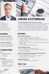 CV ontwerp Jurgen